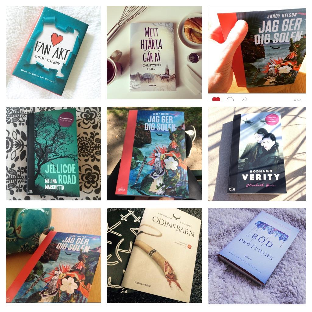 Nio böcker från Instagram